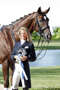Dawn Bernardo and Desperado. (Photo courtesy of SusanJStickle.com)